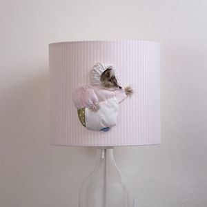 Mrs Tiggy Winkle™ 3D Appliqué Handmade Lampshade - living room