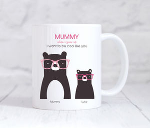 Cool Mummy Bear Mug - mugs
