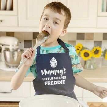 Mummy's Little Helper Personalised Apron