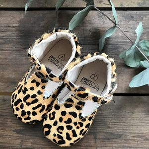 'Wild One Leopard T Bars' For Toddlers And Children - clothing