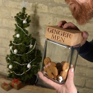 Ginger Men Jar - kitchen accessories