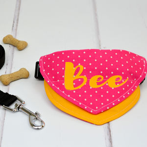 Personalised Bandana For Cats And Dogs