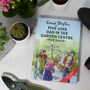 Personalised 'Five Lose Dad' Book - activity & colouring books