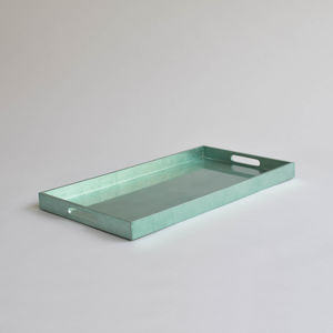 Rectangular Lacquer Serving Tray - tableware