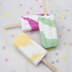 Popsicle Bath Fizzy - gifts for her