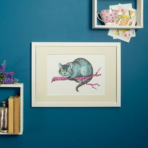 Cheshire Cat Alice In Wonderland Print - whatsnew
