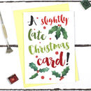 Funny Belated Christmas Card