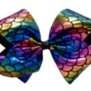 Mermaid Bow - Black