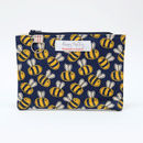 Busy Bee Flat Purse With Keyring