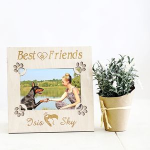 Best Friends Personalised Dog Picture Frame
