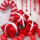 Diy Christmas Balloon Presents