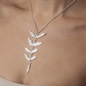 Botanical Silver Necklace