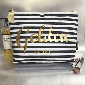 Personalised 'Stripe' Luxury Wash Bag - make-up bags