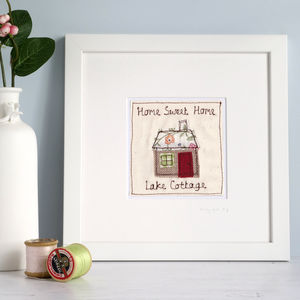Personalised New Home House Picture - children's pictures & paintings