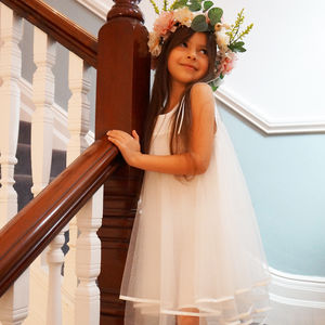 Olive ~ Flower Girl Dress | Party Dress - bridesmaid dresses