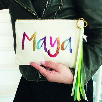 Personalised Bag For Teens Gift
