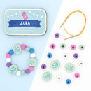 Personalised Mermaid Bracelet Gift Kit