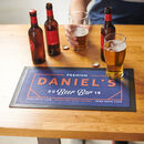 Personalised Modern Style Drinks Bar Runner