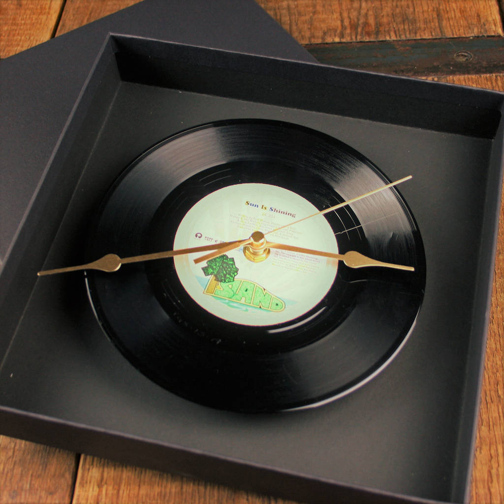 classic vinyl record clock choose artist or decade by ...