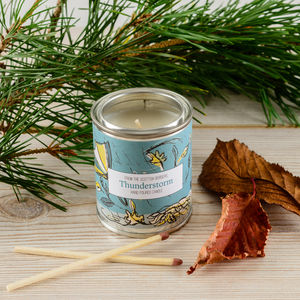 Thunderstorm Patchouli Candle Tin