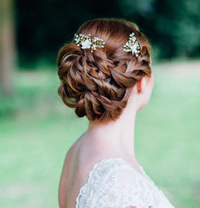 Daphne Bridal Hairpins - bridal hairpieces