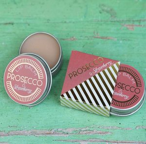 Prosecco And Strawberry Lip Balm Gift - prosecco gifts