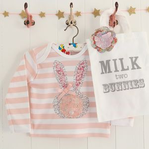 Baby Bunny T Shirt And Gift Bag