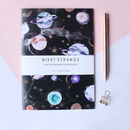 Marble Galaxy A5 Notebook With Lined Pages