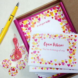 Personalised Love Letters Valentine's Writing Set - cards & wrap