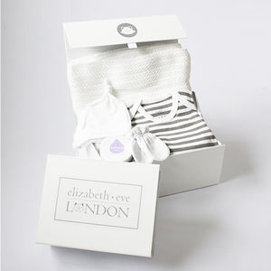 Mum And Baby Swaddle Gift Box - baby's first christmas