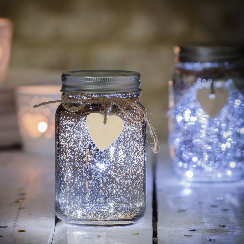 Sparkle Led Jam Jar Light By Thelittleboysroom