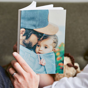 Personalised Photo Textured Cover Notebook - notebooks & journals