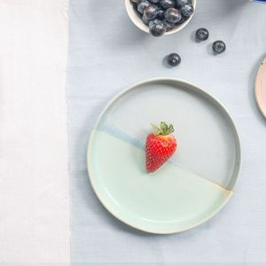 Handmade Pastel Ceramic Side Plate - tableware