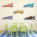 Racing Cars Wall Stickers
