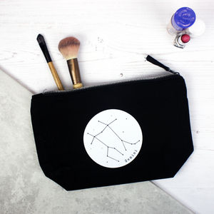 Constellation Star Sign Personalised Make Up Bag - spring-fashion-2016