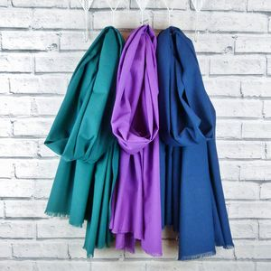 Oversized Scarf Teal, Purple, Navy - scarves