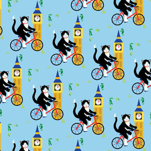 'Cat Wrapping Paper' Recycled Wrapping Paper - shop by category