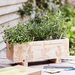 Indoor And Outdoor Herb Growing Kit - gifts under £25