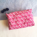 Wash Bag, Block Printed, Two Colours Available