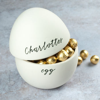 Personalised Name Easter Egg