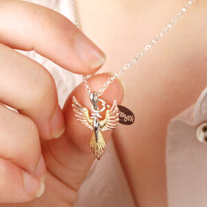 Personalised Phoenix Strength Necklace