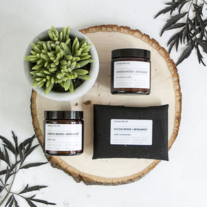 Personalised Organic Wellbeing Spa Collection - gifts for her