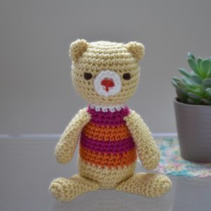 Amigurumi Bailey The Bear - whatsnew
