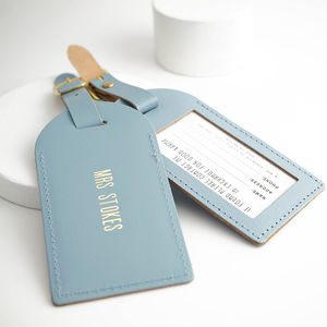 Something Blue Luggage Tag - luggage tags