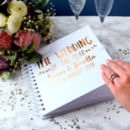 Personalised Wedding Of The Year Guest Book