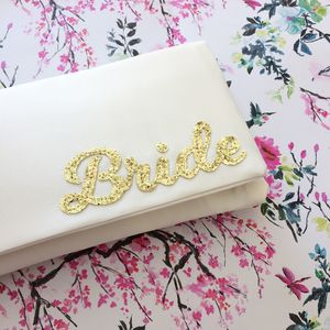Bride Wedding Day Bridal Clutch - bags