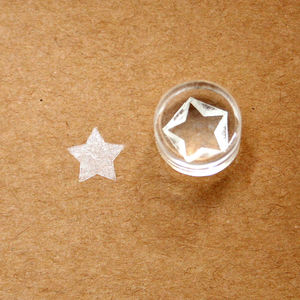 Little Star Crystal Clear Stamp