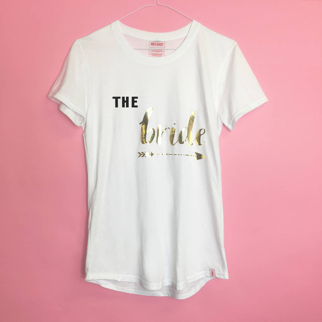 'The Bride' Bride Tribe T Shirt