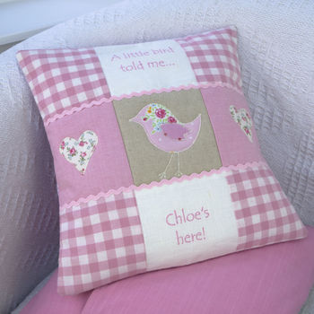 'Little Bird' Cushion