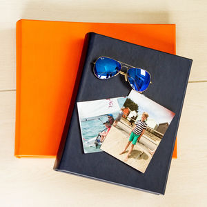 Leather Photo Album - albums & guest books